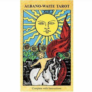 Albano Waite Tarot Deck New